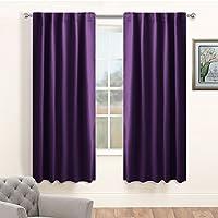 Living Room Blackout Curtain Panels - PONY DANCE Window...
