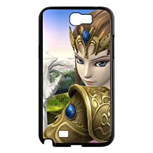 Samsung Galaxy N2 7100 Cell Phone Case Black Super Smash Bros Princess Zelda JSK701084