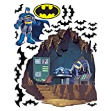 DC Super Friends Large Batcave Wall Decals
