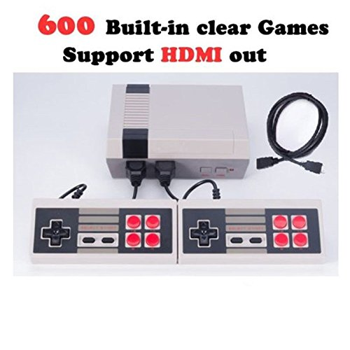 HDMI HD TV Family Entertainment Classic System 600 in 1 Video Game Console with 2pcs Controllers