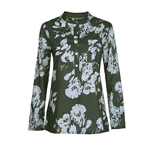 Shirt Chic Arme Femmes Vrac Longue Verte Mode Automne Sexy T Dcontracte Blouse Manches Sweatshirts Haut Top Vetements et OVERMAL 1 en Chemise t fqwxT