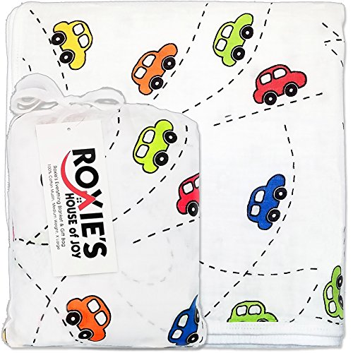 Everything Baby and Toddler Blanket - Boys or Girls, Cotton Muslin, 47
