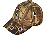 KYS Camouflage Hat - Embroidered With Bullet Holes - Adjustable (Camouflage)