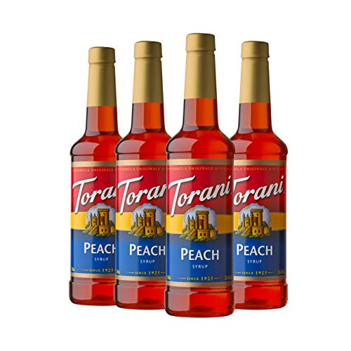 Torani Syrup, Peach, 25.4 Ounces (Pack of 4)