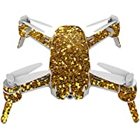 Skin For Yuneec Breeze 4K Drone – Gold Tiles | MightySkins Protective, Durable, and Unique Vinyl Decal wrap cover | Easy To Apply, Remove, and Change Styles | Made in the USA