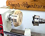 "Simple Woodturning Tools - 1¼"" X 8 TPI Vacuum"