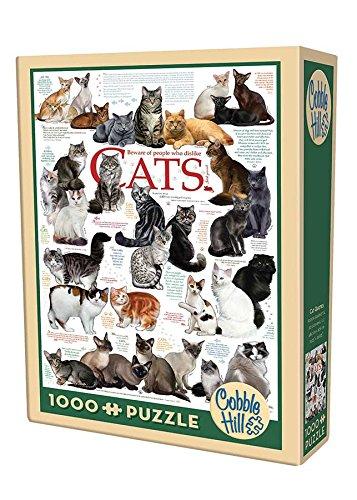 Cobble Hill Cat Quotes Puzzle (1000 Piece)