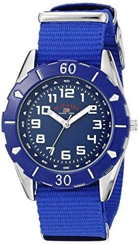 U.S. Polo Assn. Kids' USB75030 Analog Display Analog Quartz Blue Watch