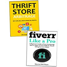 How to Earn an Extra $500 Per Month Online: 2 Quick Ways to Earn Money While Working Part-Time from Home. Fiverr Freelancer & Thrift Store Reseller Business Ideas.