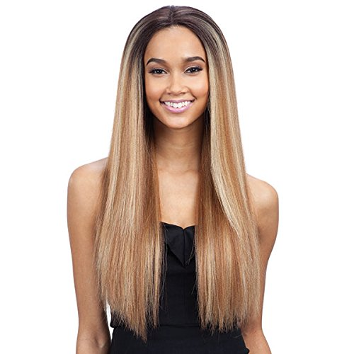 - FreeTress Equal Synthetic Hair Lace Front Wig Premium Delux Evlyn (TS TAFFY)
