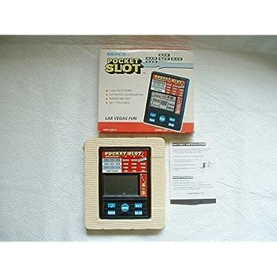 Radica Pocket Slot Handheld Game Model 1370 New in Box: Toys & Games [5Bkhe0307312]