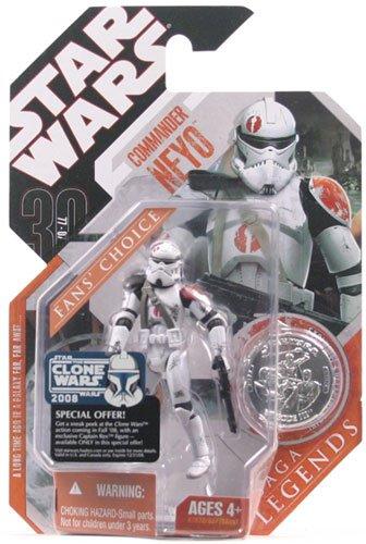 Star Wars 30th Anniversary Saga 2007 Legends Action Figure Commander - Figure 2007 Action