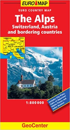 The Alps GeoCenter Euro Map (GeoCenter Maps): Amazon.de ...