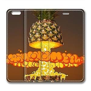 iCustomonline Leather Case for iPhone 6 Plus, Explosion Ultimate Protection Leather Case for iPhone 6 Plus