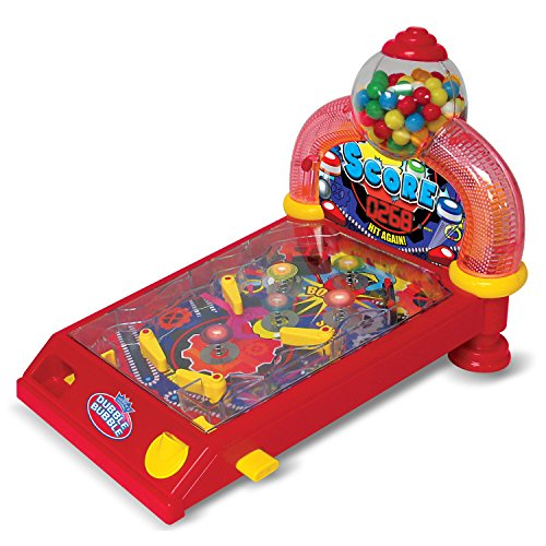 Dubble Bubble Arcade Pinball Machine and Bubble Gum Dispenser DB100P