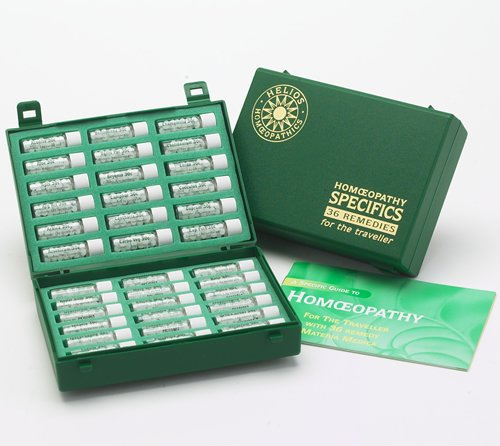 36 Homeopathic Remedy Travel Kit