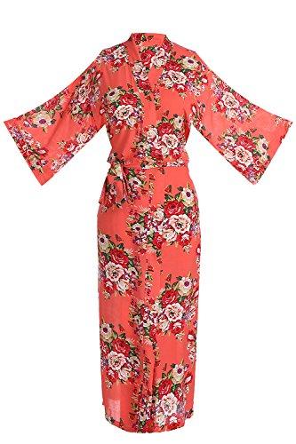 Cotton Long Robe - 8