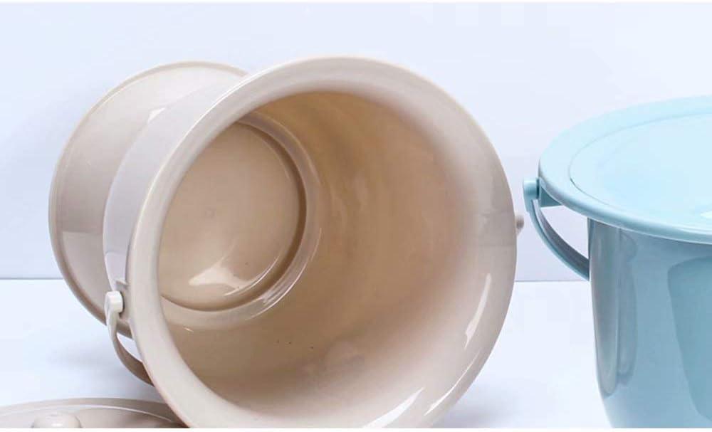 Cubos de orina Femeninos Adultos con Tapa ollas de orina ni/ños escupidera de urinarios pl/ásticos Inodoros port/átiles ollas Mujeres Embarazadas