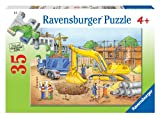 Ravensburger Busy Builders - 35 Piece Jigsaw Puzzle for Kids – Every Piece is Unique, Pieces Fit Together Perfectly