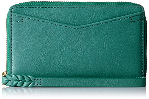 Caroline Rfid Phone Wallet Wallet, Teal Green, One Size