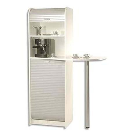 Mueble de almacenaje para cafetera eléctrica y horno microondas, 3 ...