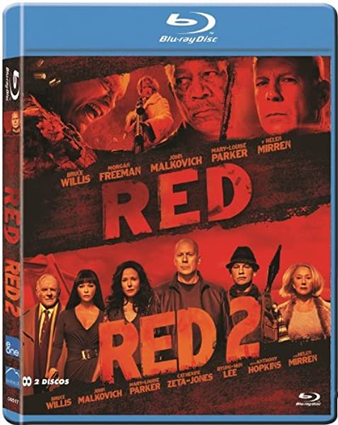 Pack Red 1 + 2 (Bd) [Blu-ray]: Amazon.es: Bruce Willis, Morgan ...