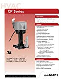 Little Giant 542015 CP3-230 230 Volt 563 GPH