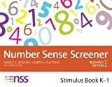 Number Sense Screener, Nancy C. Jordan and Joseph Glutting, 1598572016