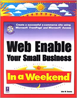 Book Web Enable Your Small Business In a Weekend