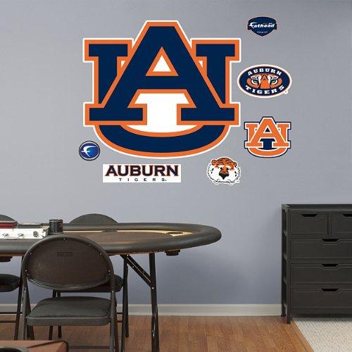 FH6161286 NCAA Auburn Logo Vinyl Wall Graphic Decal Sticker by FATHEAD
