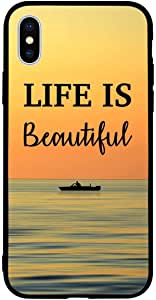 iPhone XS / 10s Case Cover Life is Zoot High Quality Design Phone Covers