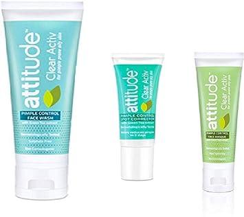 Clear Activ Face Wash Spot Corrector Face Masque Pimple
