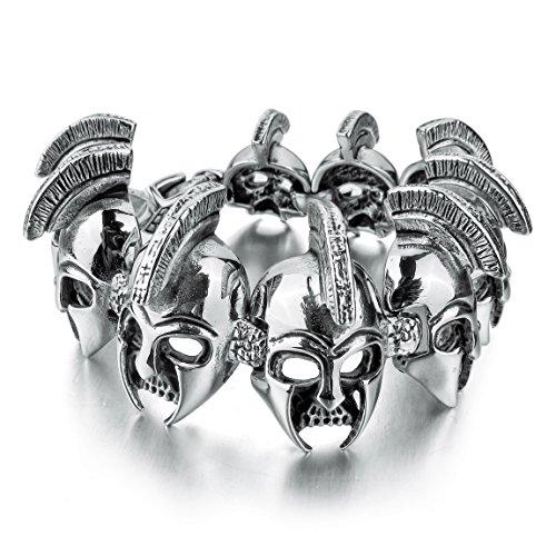 INBLUE Stainless Bracelet Silver Knight