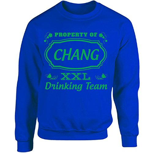 property-of-chang-st-patrick-day-beer-drinking-team-adult-sweatshirt-s-royal