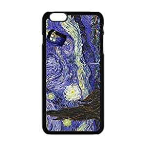 Doctor Starry night painting Who Cell Phone Case for iPhone plus 6