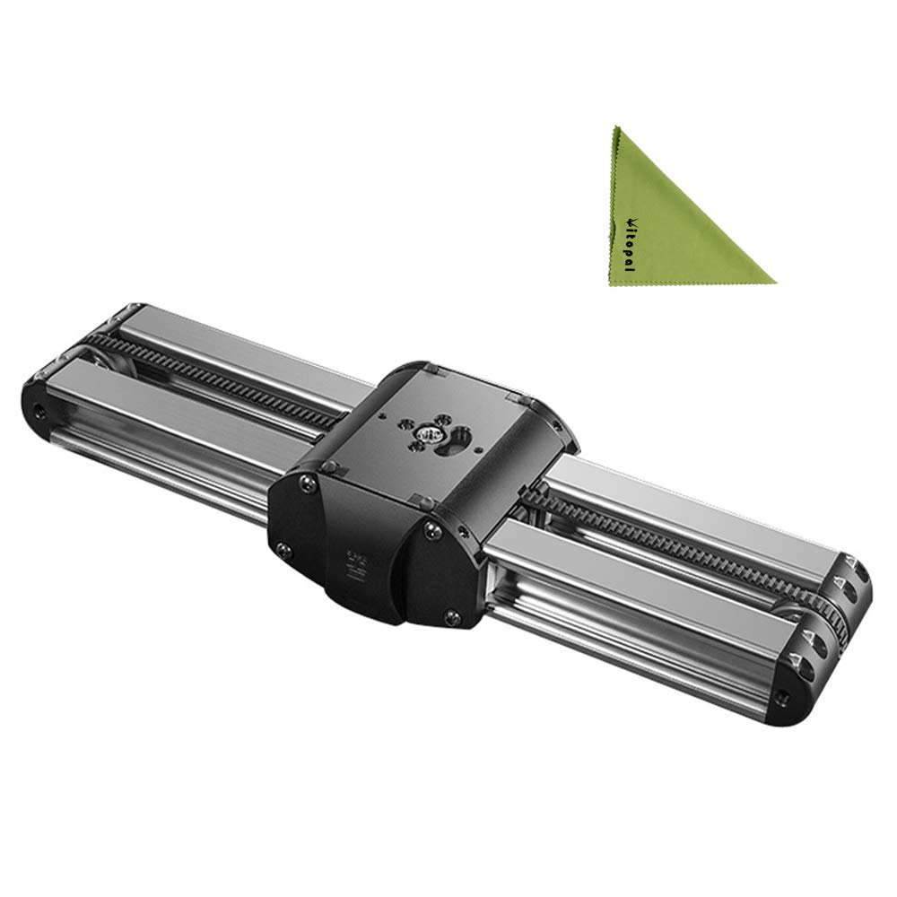Vitopal Micro 2 Professional Camera Rail Slider 33cm Mini Double Distance Travel Track Slider Video Dolly Tracking Rail for ARRI Mini/RED/BMCC/DSLR DV by Vitopal