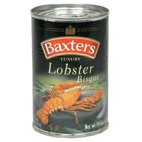 Baxters Luxury Soups, Lobster Bisque, 14.5-Ounce Cans (Pack of 12) by Baxters