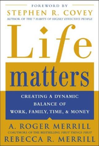 Life Matters Creating Dynamic Balance product image