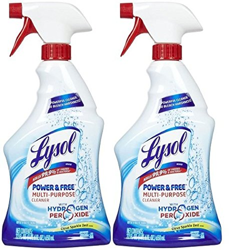 Lysol Multi-Purpose Cleaner w/ Hydrogen Peroxide - Citrus Sparkle Zest - 22 oz - 2 pk