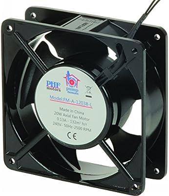 Pump House FM-A-12038-L - Motor de ventilador axial (120 x 120 x 38 mm): Amazon.es: Industria, empresas y ciencia