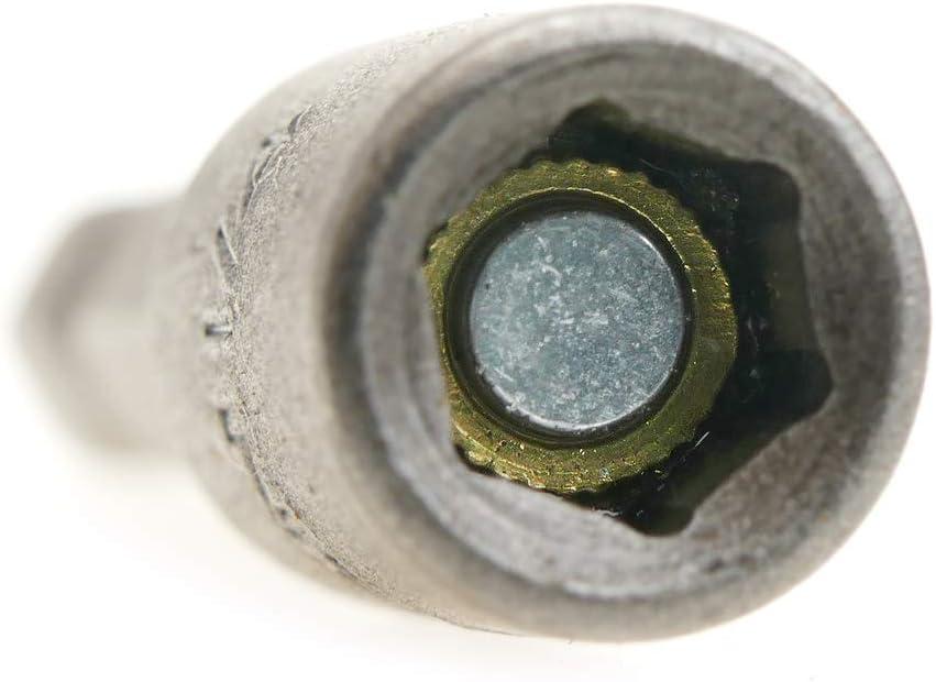Tolsen Schaft 3 St/ück 1//4 mm x 48 mm Sechskant Steckschl/üssel Nuss Treiber Bits 1//4 Adapter