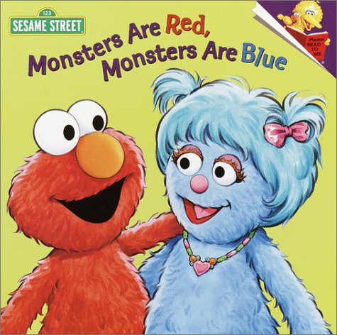 Download Monsters are Red, Monsters are Blue (Pictureback(R)) pdf