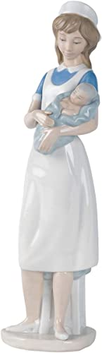 NAO Nurse. Porcelain Nurse Figure.