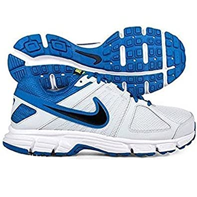 ec1953437f1 NIKE MENS DOWNSHIFTER 5 MSL RUNNING SPORTS GYM TRAINERS WHITE BLUE SHOES 8  SIZES (7.5