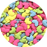 Butterflies Cake Decorations - Assorted Colors BUTTERFLY (Bright Pastels) EDIBLE Candy Confetti Sprinkles for Cakes, Cupcakes & Cookies
