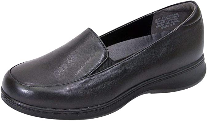Peerage Olivia Women Wide Width Leather