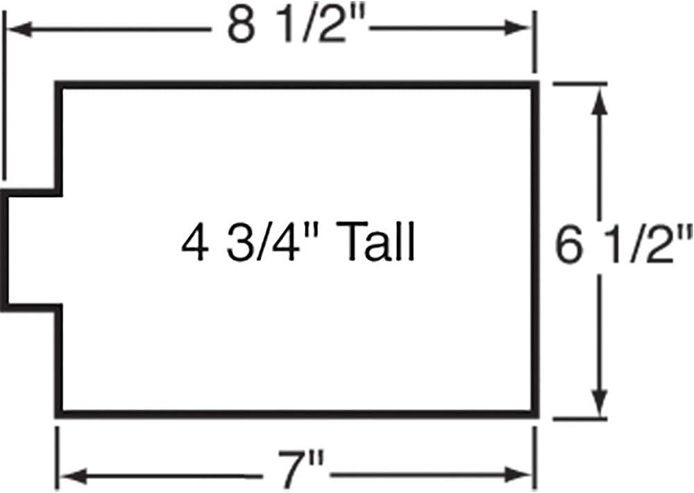 21,5 x 16,5 x 12 cm Walthers Cornerstone HO Scale Model Public Library Kit 8-1//2 x 6-1//2 x 4-3//4 pulgadas
