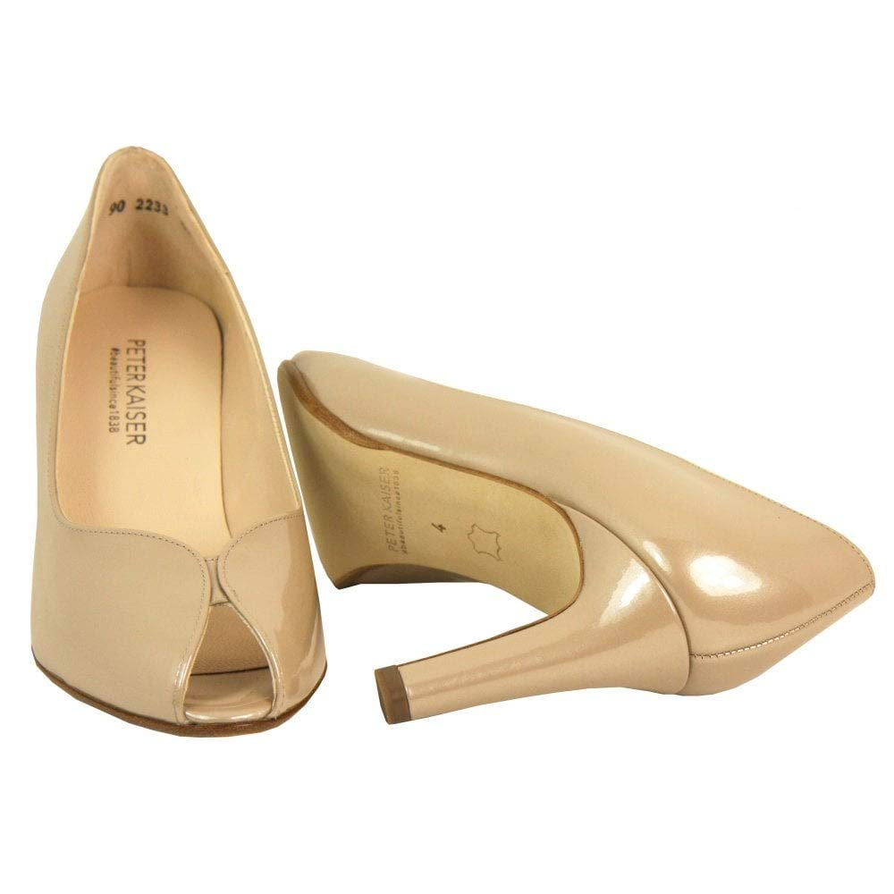 Peter Kaiser Court schuhe with Peeptoe - Sanna - 96303 96303 96303 2.5 Sand 3153f1
