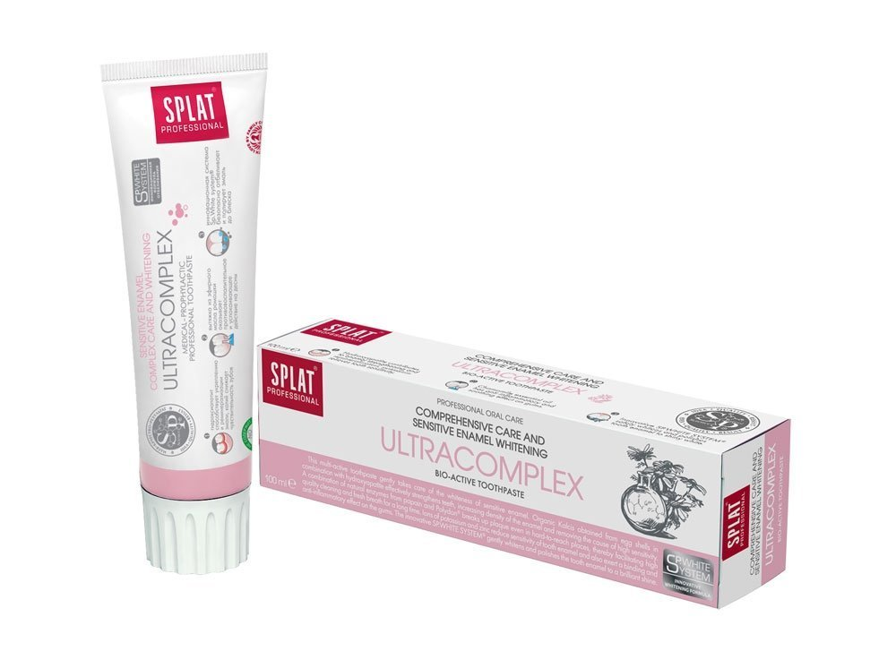 SPLAT Ultracomplex Professional toothpaste