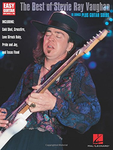 The Best of Stevie Ray Vaughan (Easy Guitar with Notes & Tab) Easy Blues Guitar Solos